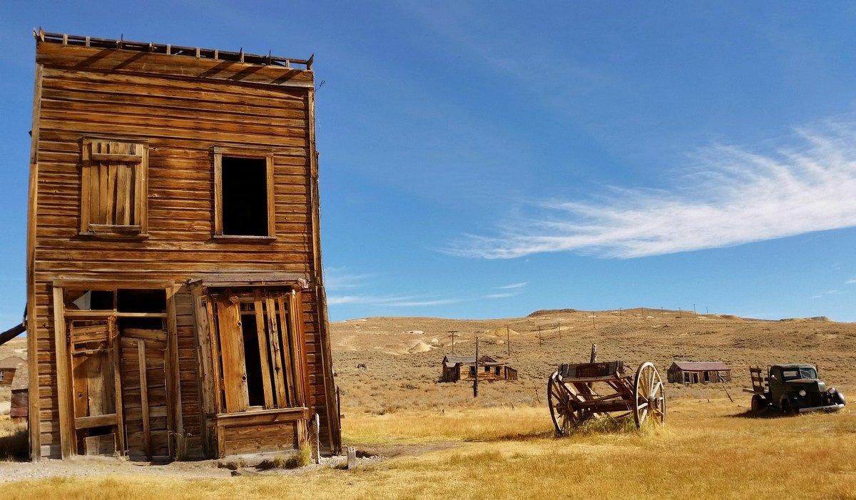 Заброшенные города США: Боди, штат Калифорния