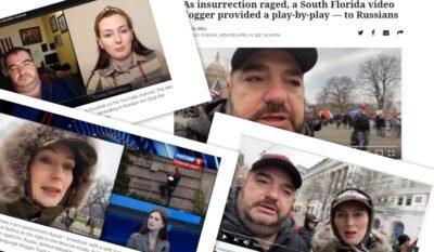 Русскоязычные блогеры Стив Дудник и Елена Никитская заинтересовали журналистов из США на предмет связи с Кремлем